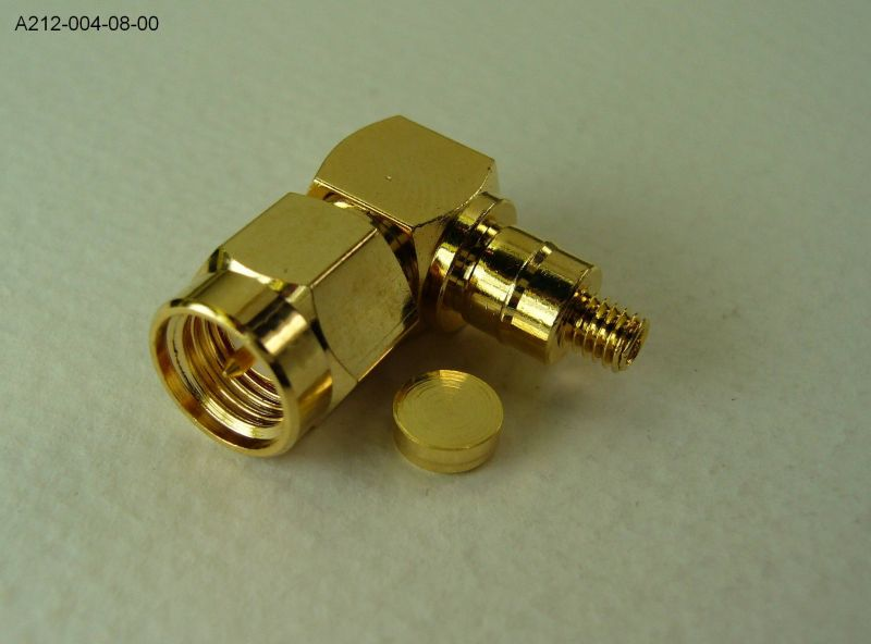 customized SMA R/A PLUG connector